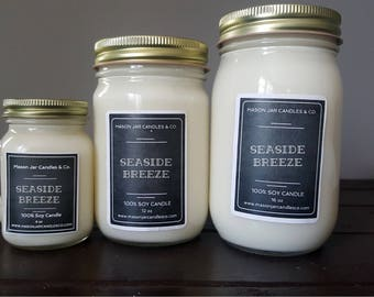 Mason Jar Candle, Mason Jar Soy Candle, Mason Jar, Hipster Candle, Clean Burning, Gift For Her, Gift Candle, Family Candle, Homemade