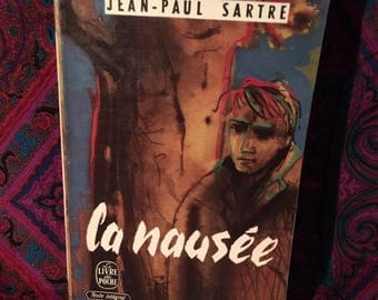 La Nausee - Jean-Paul Sartre French Language Paperback