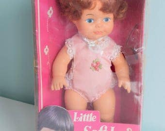 Vintage Soft Love Doll, Brand New In Package, Vintage Hong Kong, Vintage Doll,  The New Soft Doll, Vintage Baby