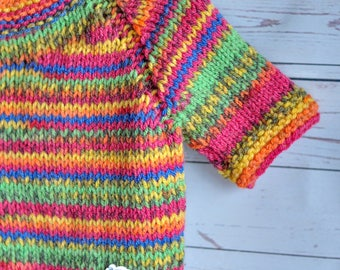 baby knitted sweater , little sweater for kids, handmade work, very soft work