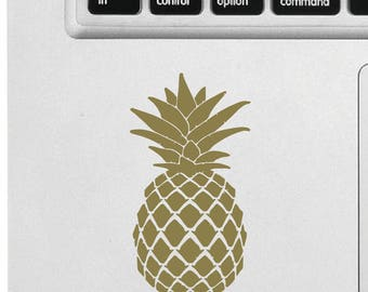 Pineapple - Apple Macbook sticker, decal, decal vinyl sticker