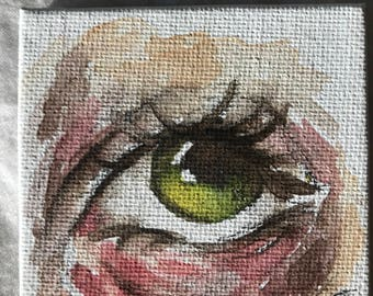 Small Eye Painting