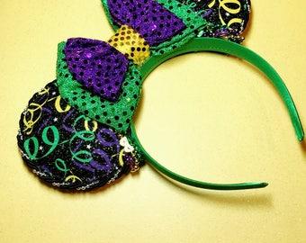 Mardi Gras Mouse Ears!