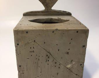 Country primitive tissue box cover