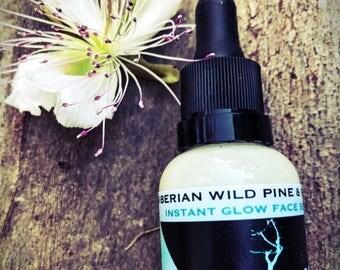 Face serum with WILD PINE&PEARLS~brightening serum~anti aging serum~face serum~face treatment~organic skin care~aloe vera serum~moisturizer