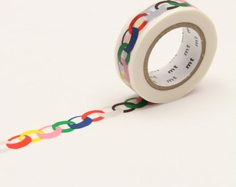 mt x Minä Perhonen - ring・vivid < MTMINA07 > - Washi Tape | masking tape | japanese stationery