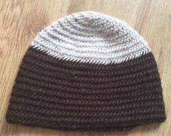 Needle-bound cap gr. 52-54 100% Virgin wool