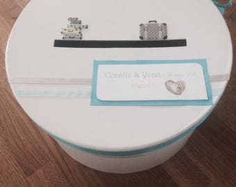 Custom wedding urn
