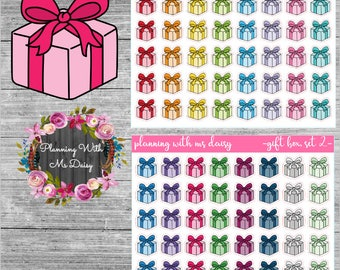Gift Stickers (Choose from 2 color sets)