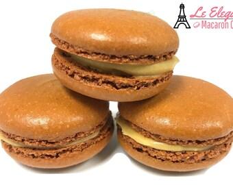 Macarons 12pc Salted Caramel