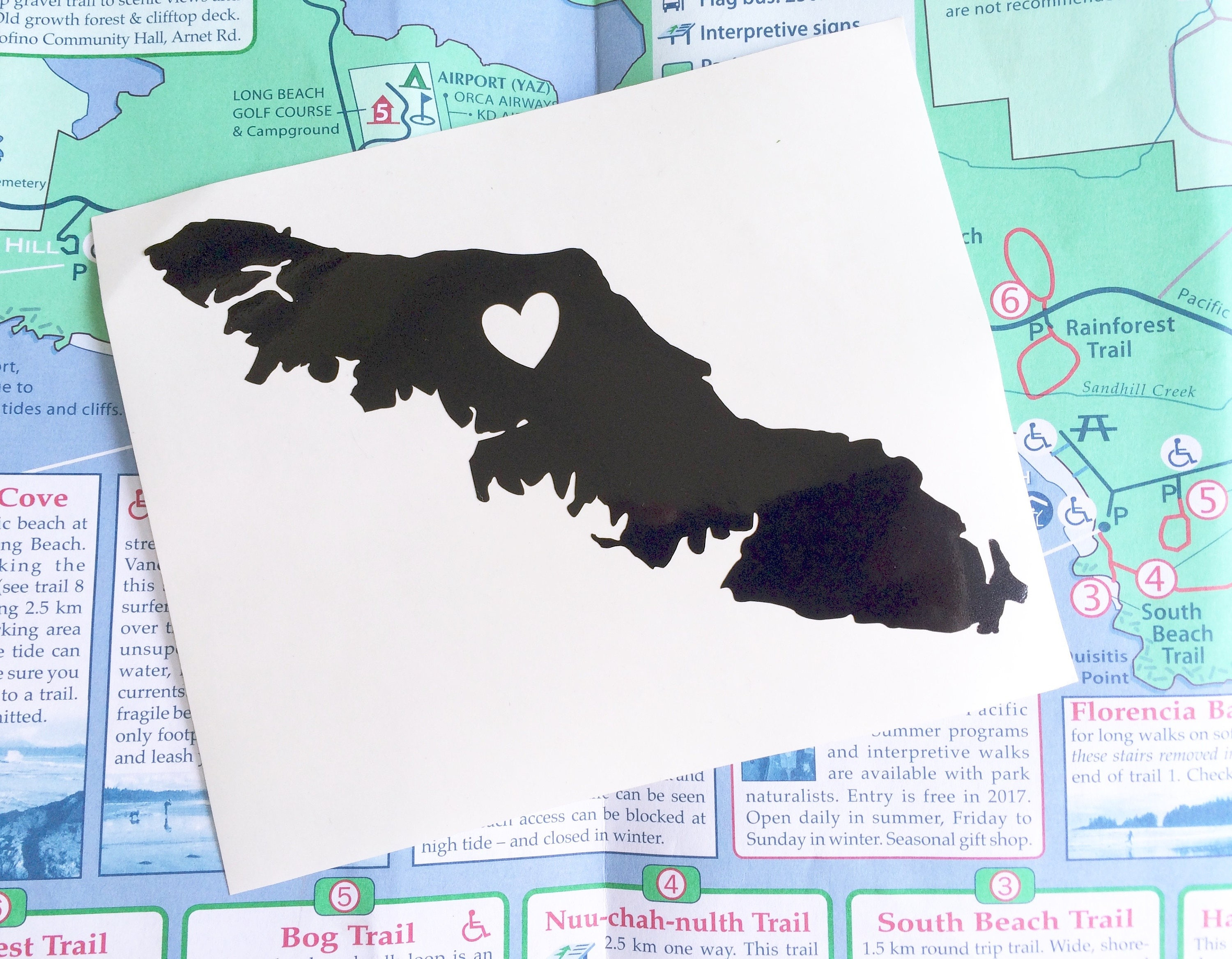 Vancouver Island Decal Decal Vinyl Decal Laptop Sticker - Custom vinyl decals vancouver