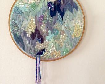 Dreamscape Original Embroidery 21cm