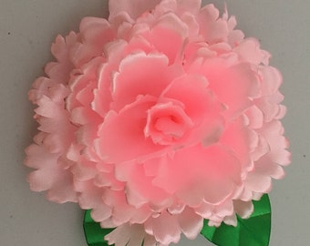 Carnation Flower Brooch.3