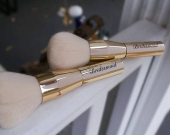 Bridesmaid Makeup Brush Gift