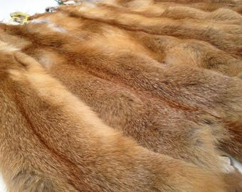 Fox skin, Fox Pelt, Soft Leather, Hunting Trophy, Skin, Pelt, Fox, Animal Pelt, Red Fox, Fox Fur, Fur of Fox, Real Fox Pelt, Real Fox Skin,