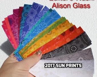 27 Quilter's Washi Tape, 2017 Sunprints, Alison Glass