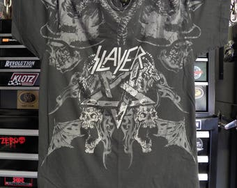 Slayer Heavy Metal Clothing Concert tees Concert Shirt Heavy Metal Shirt - Slayer All-Over Print t shirt