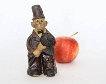 vintage tremar uk ceramic chimney sweep figurine