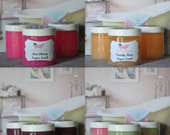 Hydrating and Exfoliating Sugar Scrub 6oz - Choose your scent!!