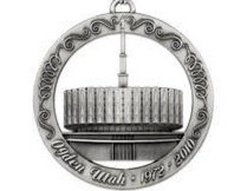Original Ogden Utah LDS Temple Ornament - LDS Gifts