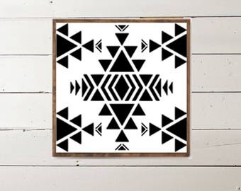 Navajo Indian Southwest Wood Sign - Home Decor - Wood Signs - Wooden Signs - Wall Decor - Wall Art - Custom Wood Signs - Wall Decor - Home