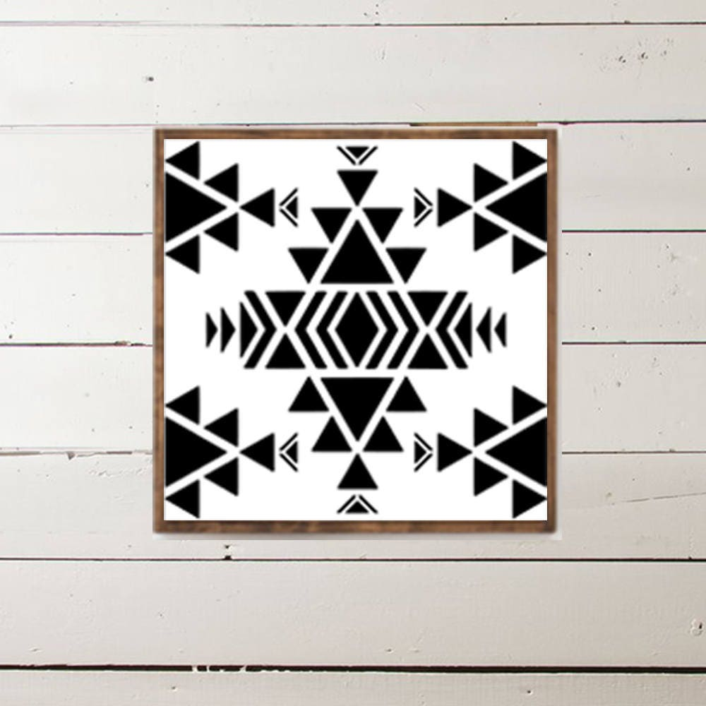 Navajo Indian Southwest Wood Sign - Home Decor - Wood Signs - Wooden ...