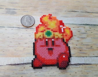 Mini Perler Fire Kirby