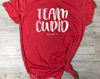 Valentine Shirt, Team Cupid Shirt, Love, Arrows, Valentine Tee, Graphic Tee