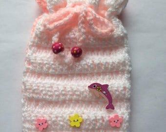 Crochet Lavender Bags