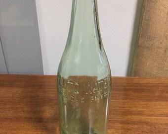 Pluto Water Glass Bottle