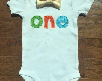First Birthday Onesie or shirt
