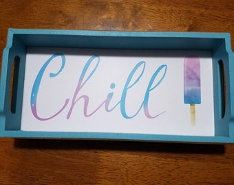 Chill Wooden Tray