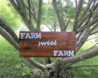 Farm Sweet Farm Sign