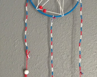 Red, White, and Blue Dream Catcher