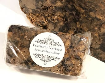 Perfectly Natural African Black Soap