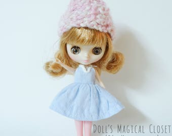 Petite Blythe Dress with Knitted Hat