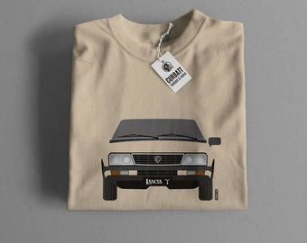 T-shirt Lancia Gamma Coupe | Gent, Lady and Kids | all the sizes | worldwide shipments | Car Auto Voiture