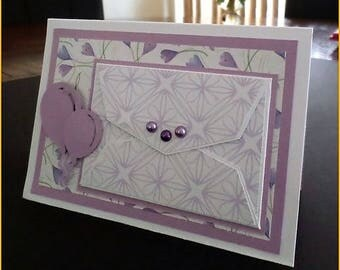 Card with envelope/Card with gift card holder
