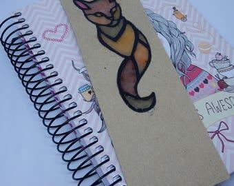 Bookmark Beige cat