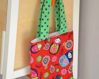 Bag quilted for girl