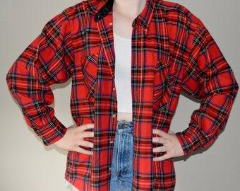 Oversized Vintage Flannel