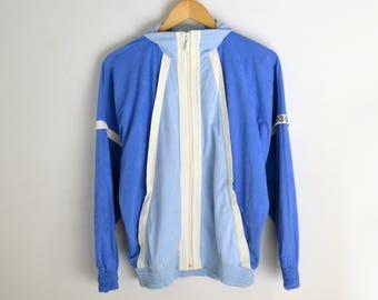 Velvet jacket women M 90s jacket Windbreaker women Windbreaker men Vintage windbreaker 90s style Retro jacket Velvet coat Pale velvet