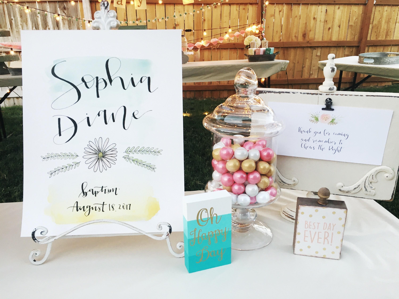 Custom Wedding Sign // Special Occasion Sign // Wedding // Baptism ...