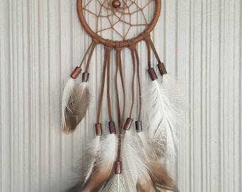 Small Brown Weave Dreamcatcher
