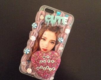 Strawberry Scented Joy Decoden Phone Case (iPhone 6/6S Plus)