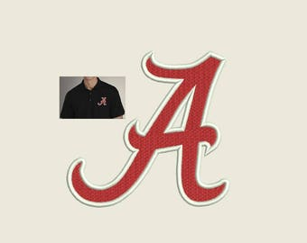 Alabama Embroidery Design - 2,3,4,5 inch size instant download