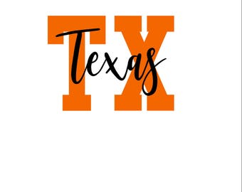 Texas SVG/PNG/DXF