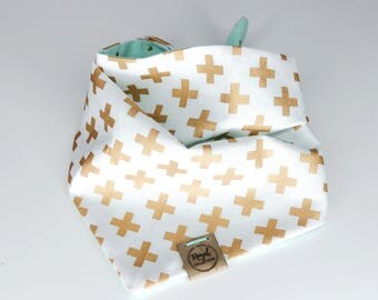 XOXO: Reversible Dog Bandana