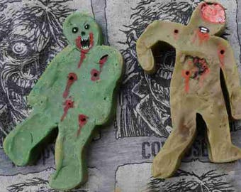 Hand-Painted Living Dead Zombie Soap