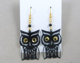 OWL - owls (many colors) earrings